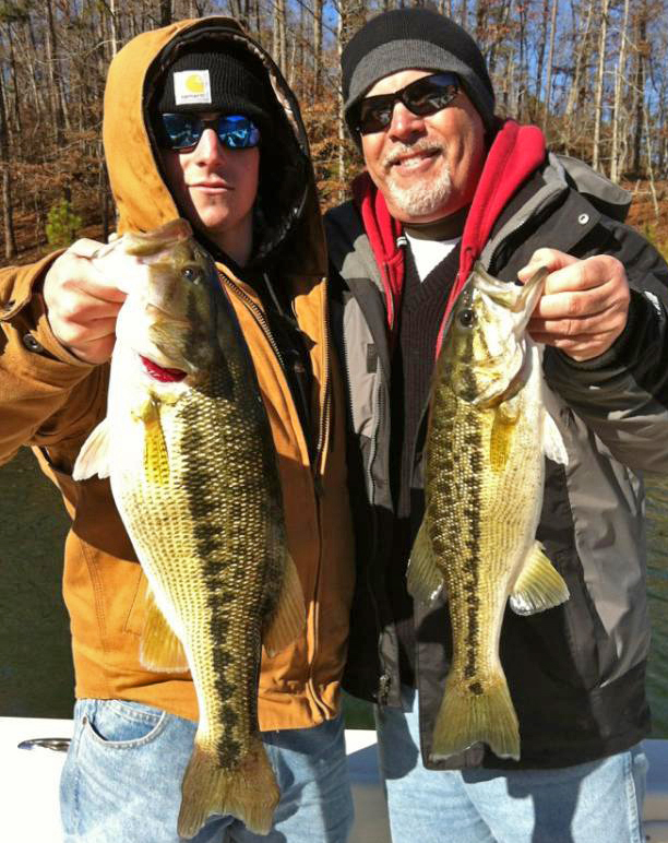 carters lake guide bass
